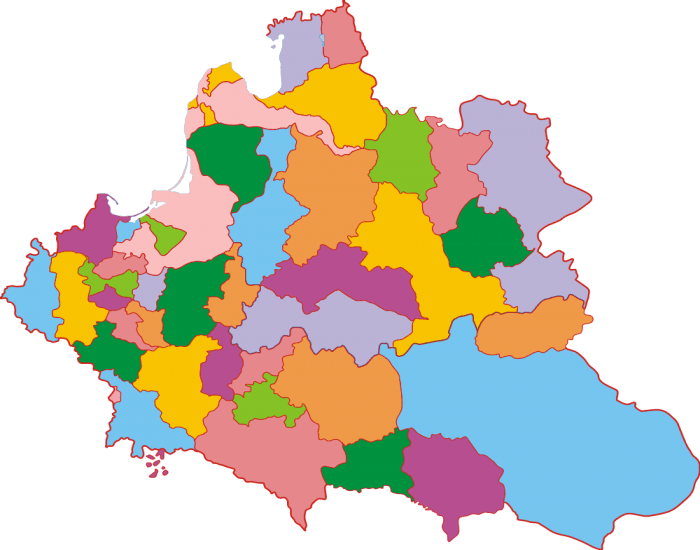 Divisions of the Polish-Lithuanian Commonwealth