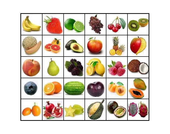 Do You Know Your Fruits ?