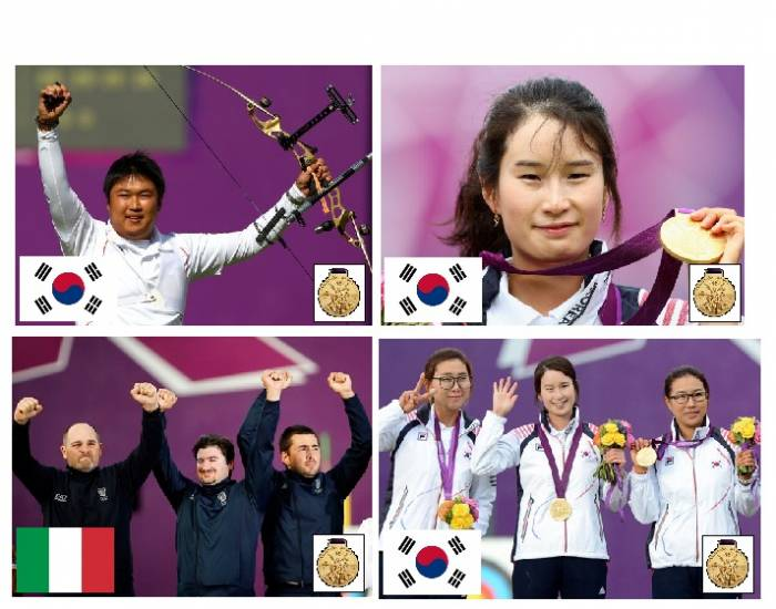 2012 Olympic Gold Medallists - Archery