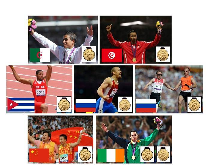 2012 Paralympic Gold Medallists - Athletics - Part 3