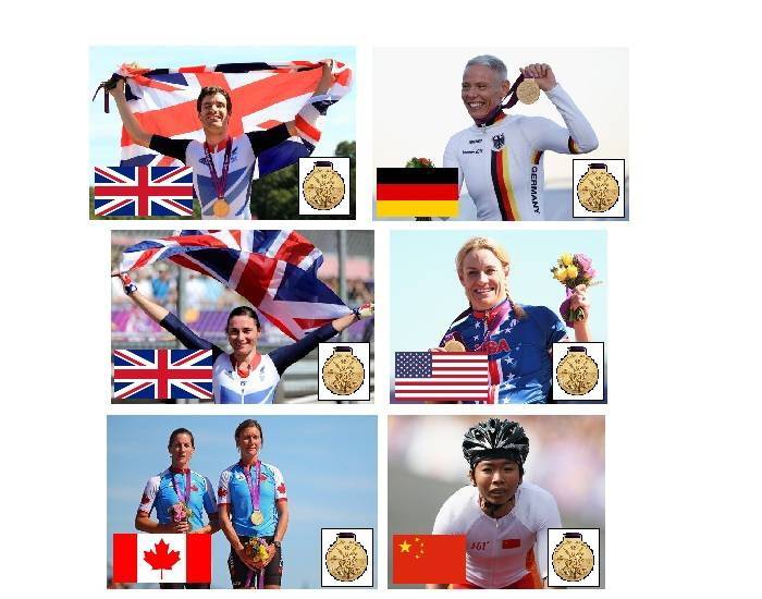 2012 Paralympic Gold Medallists - Cycling - Part 4