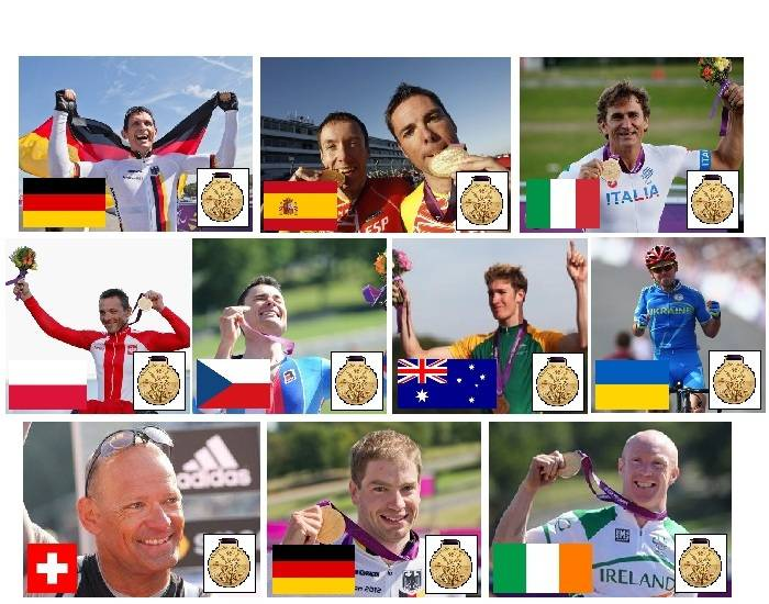 2012 Paralympic Gold Medallists - Cycling - Part 5