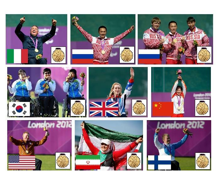 2012 Paralympic Gold Medallists - Archery