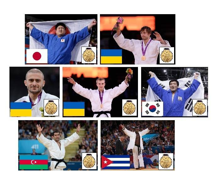 2012 Paralympic Gold Medallists - Judo - Part 1