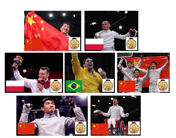 2012 Paralympic Gold Medallists - Fencing - Part 1