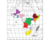 Subsaharan Africa Political Geography