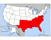 Southern States of the U.S.A
