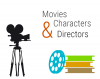 Movies, Characters, and Directors