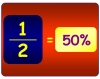 Fractions and percentage