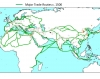 World Trade Routes Locations c. 1500