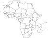 Sub-Saharan African Political Map