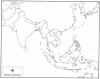 Monsoon Asia -- Political (Capitals/Cities)