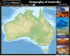Geography of Australia : Physical Map