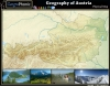 Geography of Austria : Physical Map