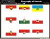Geography of Austria: State Flags
