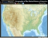 Geography of The United States : Physical Map
