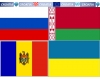 FLAG OF THE COUNTRIES OF EASTERN EUROPE