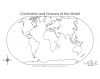 Continents & Oceans of the World