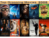 Top 10 Grossing Movies 2008