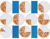 Pizza Slices, Fractions