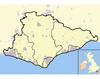 Towns and Cities of East Sussex