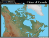 Cities of Canada
