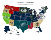 Most Hated NFL Teams In Each State 2018