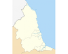Districts of North East England