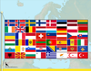 Flags of Europe 2012