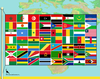 Flags of Africa 2012