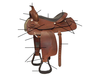 Parts of the Western Horse Saddle