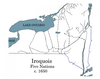 Five Nations of the Iroquois c. 1650