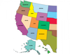 The Capitals of the Western States I Labeling Interactive