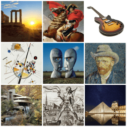 Music, Art, Architecture and  History
